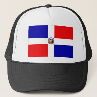 dominican flag trucker hat