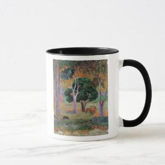 Dominican Landscape or Landscape with a Pig Mug