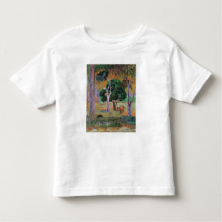 Dominican Landscape or Landscape with a Pig Toddler T-Shirt