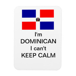 """Dominican"" Magnet"
