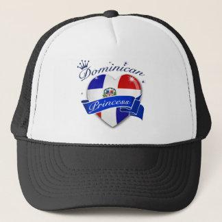 Dominican princess trucker hat