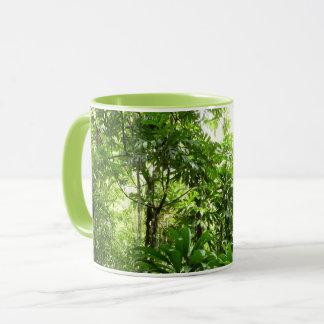 Dominican Rain Forest I Tropical Green Nature Mug