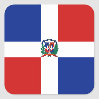 Dominican Rep. Flag Sticker