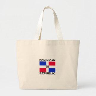 Dominican Republic Canvas Bag