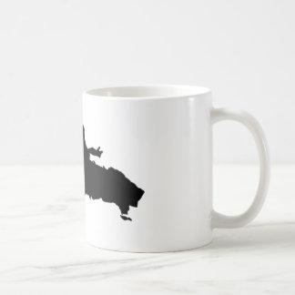 Dominican Republic Basic White Mug
