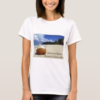 Dominican Republic Beach ladies t-shirt