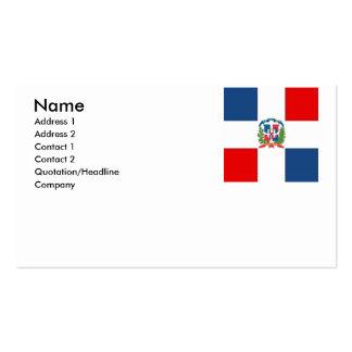 Dominican Republic Business Card Template