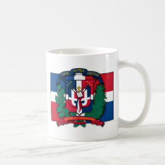 Dominican Republic Coat of Arms Coffee Mug