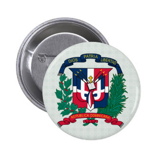 Dominican Republic Coat of Arms detail Buttons