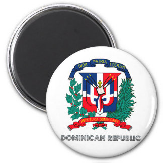 Dominican Republic Coat of Arms Magnet