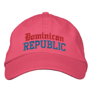Dominican , Republic Custom Hat Embroidered Hats