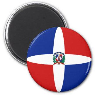 Dominican Republic Fisheye Flag Magnet