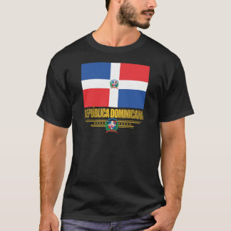 Dominican Republic Flag Apparel T-Shirt