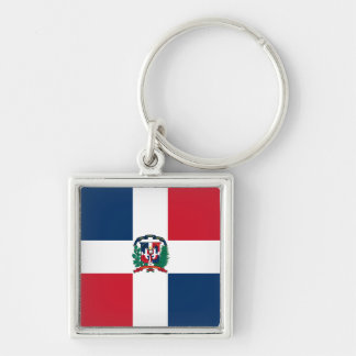 Dominican Republic Flag DO Key Ring