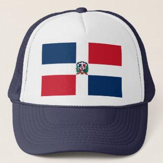 Dominican Republic Flag DO Trucker Hat