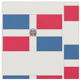 Dominican Republic Flag Fabric