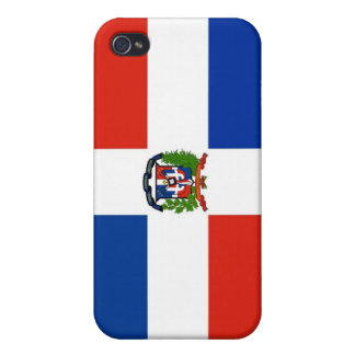 Dominican Republic Flag Covers For iPhone 4