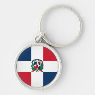 Dominican Republic Flag Keychain