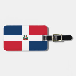 Dominican Republic flag Luggage Tag