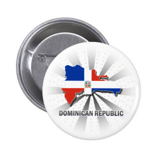 Dominican Republic Flag Map 2.0 Buttons