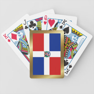 Dominican Republic Flag Playing Cards
