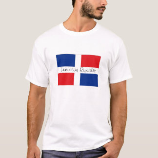 Dominican Republic flag souvenir tshirt