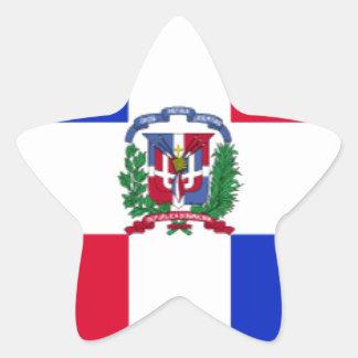 Dominican Republic Flag Stickers
