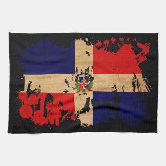 Dominican Republic Flag Tea Towel