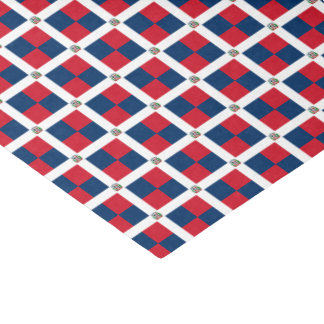 Dominican Republic Flag Tissue Paper