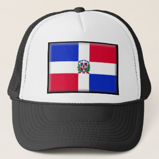 Dominican Republic Flag Trucker Hat