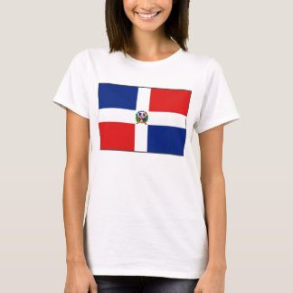 Dominican Republic Flag x Map T-Shirt