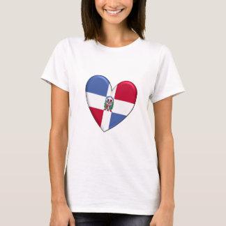 Dominican Republic Heart T-shirt