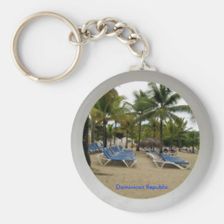 Dominican Republic Key Chain