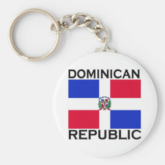 Dominican Republic Key Chains