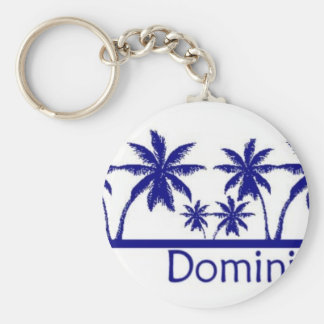 Dominican Republic Keychain