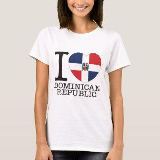 Dominican Republic Love v2 T-Shirt