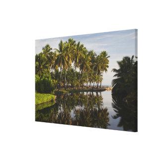 Dominican Republic, North Coast, Nagua, Playa Canvas Print