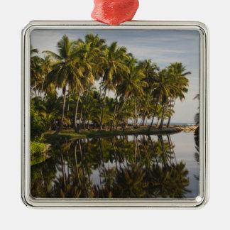Dominican Republic, North Coast, Nagua, Playa Christmas Ornament