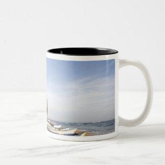 Dominican Republic, North Coast, Nagua, Playa Two-Tone Coffee Mug
