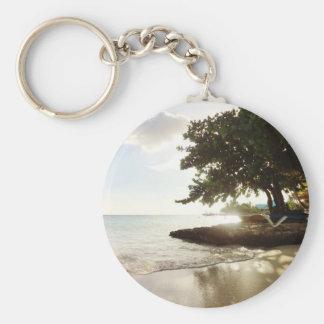 Dominican Republic Punta Canta Beach Key Ring