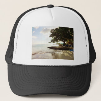 Dominican Republic Punta Canta Beach Trucker Hat