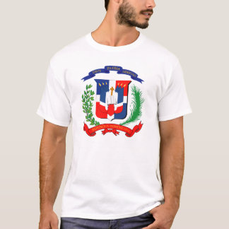 Dominican Republic - Seal - Flag - Symbol T-Shirt