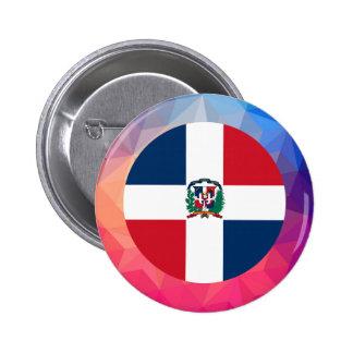 Dominican Republic Souvenir 6 Cm Round Badge