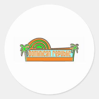 Dominican Republic Stickers