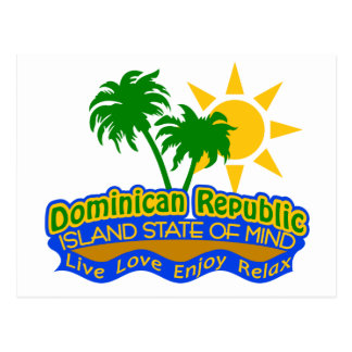 Dominican State of Mind postcard