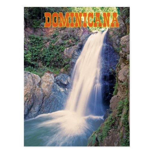 Dominicana postcard