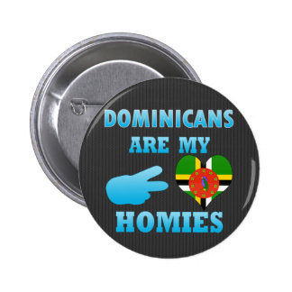 Dominicans are my Homies Pin