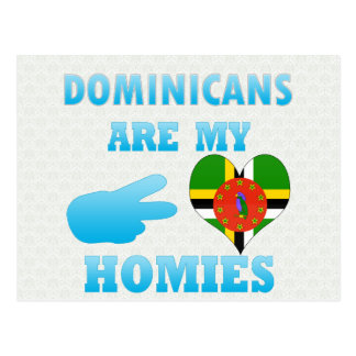 Dominicans are my Homies Postcard
