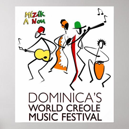 Dominica's WCMF Poster