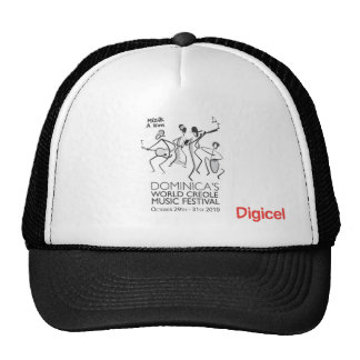 Dominica's World Creole Music Festival apparel Hat